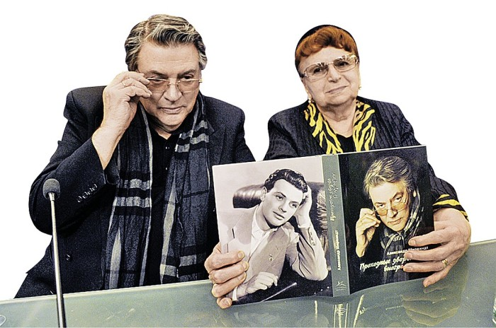 Александр Ширвиндт и Наталья Белоусова. / Фото: www.mtdata.ru