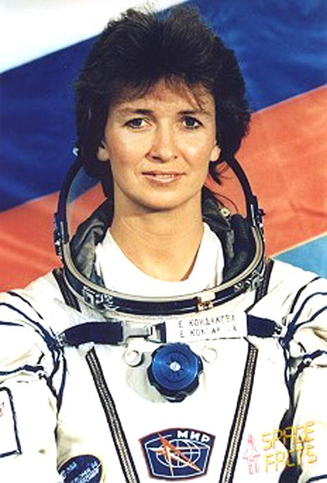 Елена Кондакова. / Фото: www.astronautika.lt