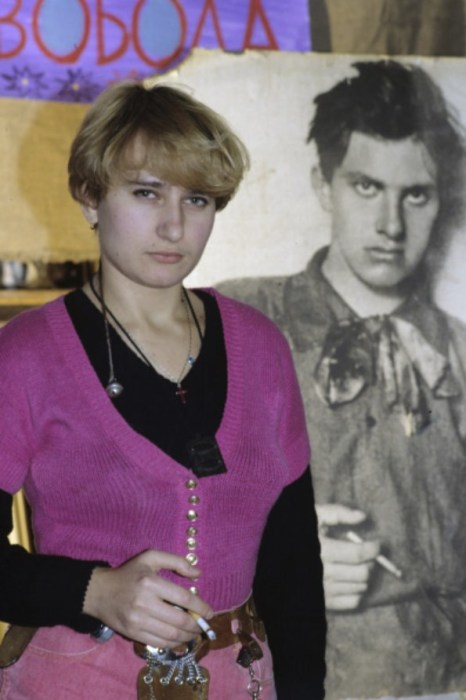 Елизавета Лавинская, внучка Владимира Маяковского. / Фото: www.visualrian.ru