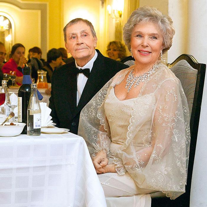 Вера Васильева и Владимир Ушаков. / Фото: www.liveinternet.ru