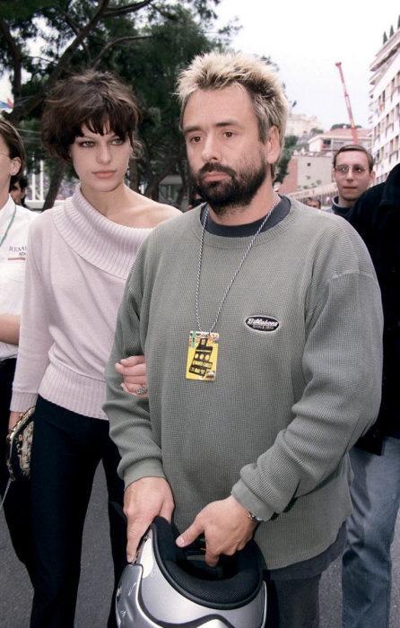 Милла Йовович и Люк Бессон. / Фото: www.karavan.ua