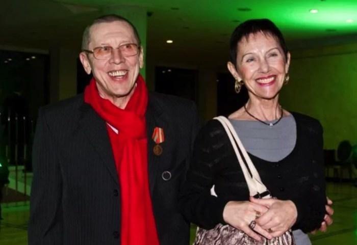 Валерий Золотухин с женой Тамарой. / Фото: www.yandex.net