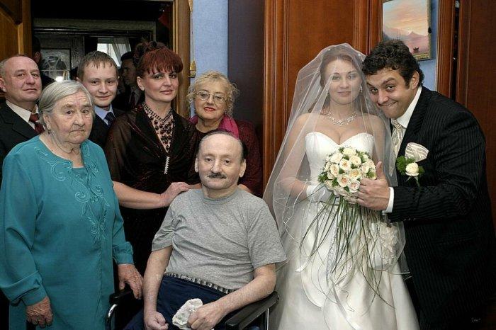 В день свадьбы Михаил Полицеймако был самым счастливым человеком в мире. / Фото: www.yandex.net
