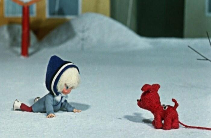 Кадр из мультфильма «Варежка». / Фото: www.kinopoisk.ru