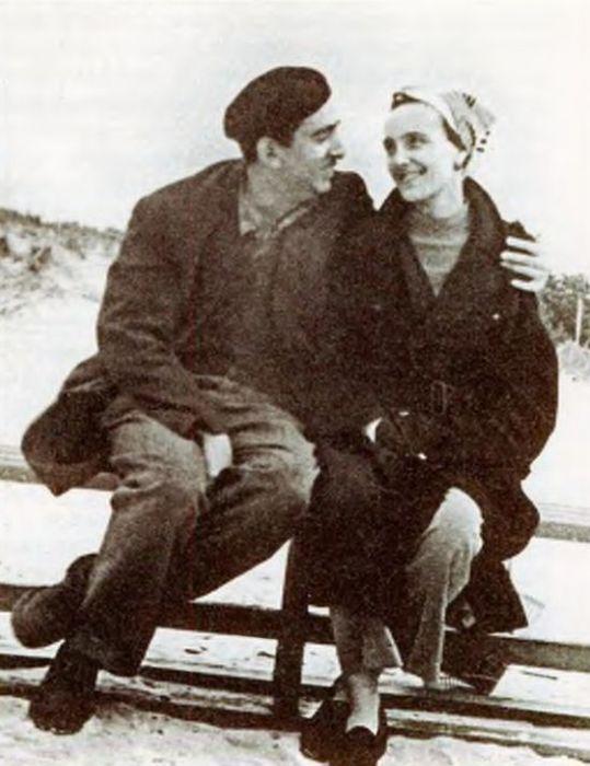 Александр Галич с женой Ангелиной. / Фото: www.myrubai.ru