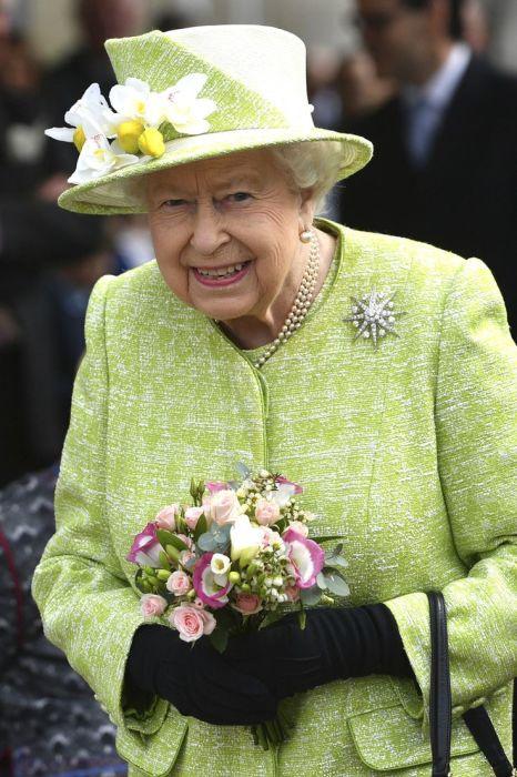 Королева Елизавета II. / Фото: www.pinimg.com