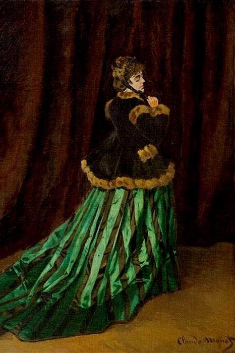 «Камилла, или портрет дамы в зелёном платье». / Фото: www.deartibus.it