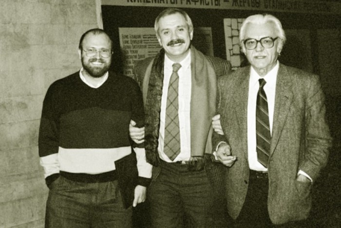 Владимир Хотиненко, Никита Михалков и Сергей Бондарчук. / Фото: www.aif.ru