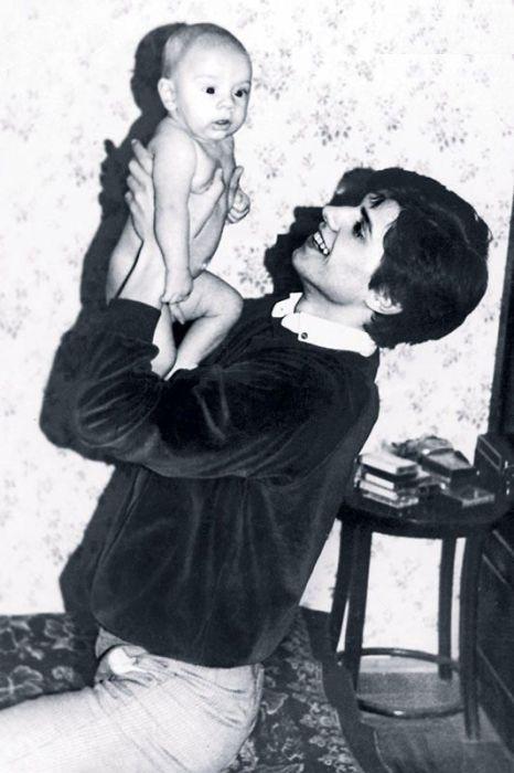 Валерий Боровинских с сыном Михаилом. / Фото: www.7days.ru
