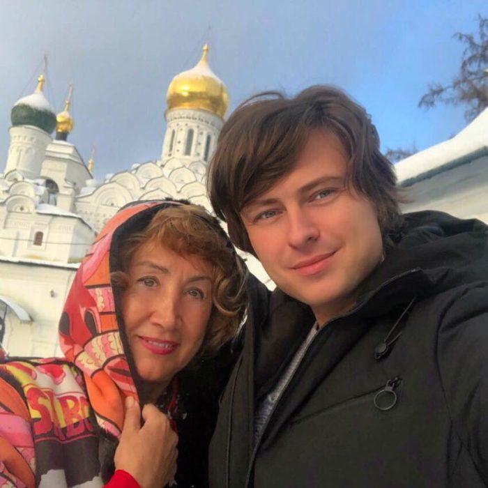 Прохор Шаляпин и Лариса Копенкина. / Фото: www.eva.ru