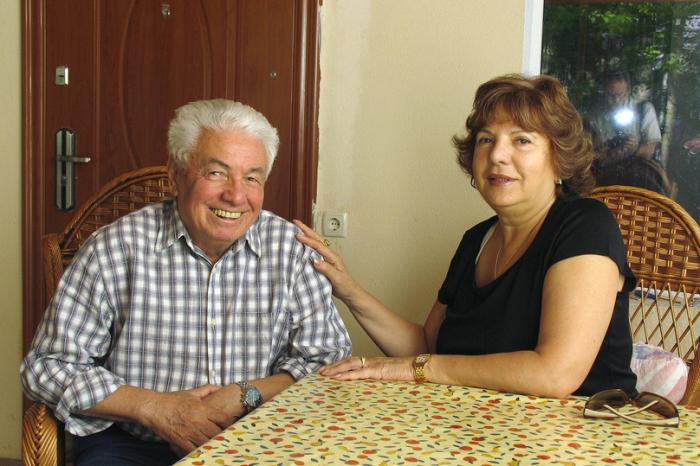 Владимир Войнович с третьей женой Светланой. / Фото: www.mk.ru