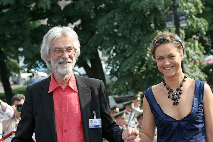 Борис Хмельницкий с дочерью Дарьей. / Фото: www.golddisk.ru
