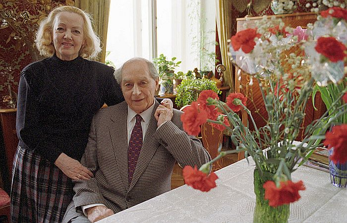Игорь и Ирина Моисеевы. / Фото: www.visualrian.ru