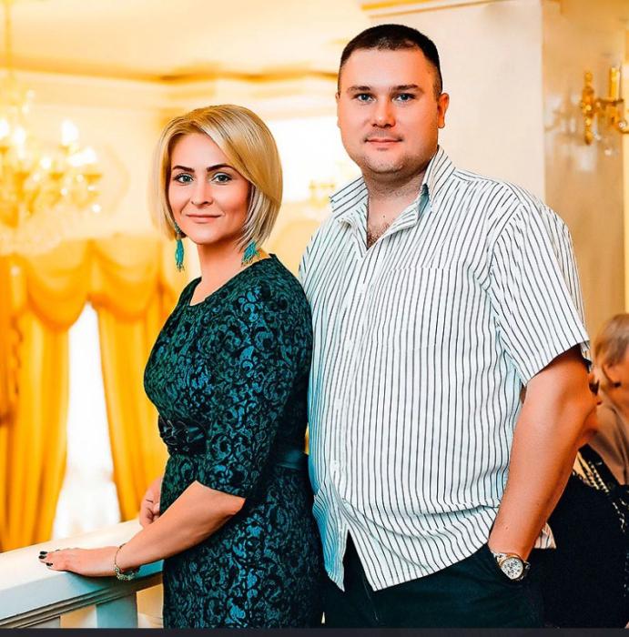 Валерия Листьева с любимым мужем. / Фото: www.7days.ru