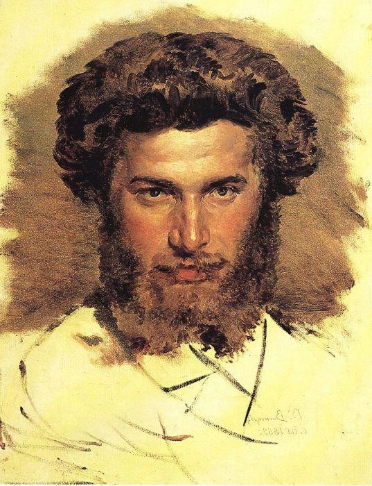 Виктор Васнецов. Портрет АрÑипа Куинджи, 1869 год. / Фото: www.regnum.ru