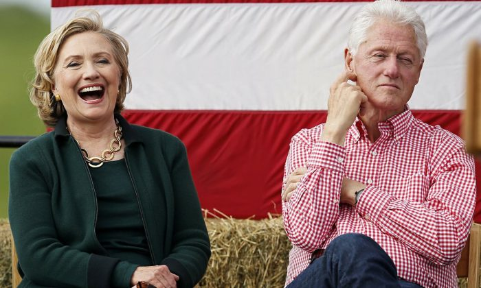 Билл и Хиллари Клинтон. / Фото: www.peopletalk.ru