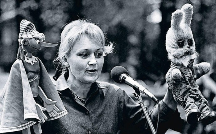 Наталья Голубенцева вот уже много лет озвучивает Степашку в передаче «Спокойной ночи, малыши!» / Фото: www.7days.ru