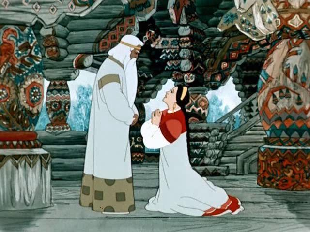 Кадр из мультфильма «Снегурочка». / Фото: www.pinimg.com