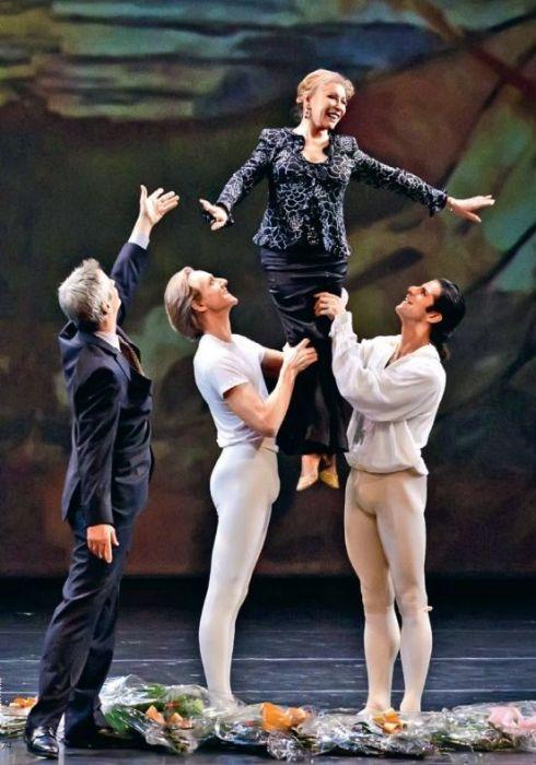 Торжественная церемония чествования Наталии Макаровой в Линкольн-Центре, 2012 год. / Фото: www.nytimes.com