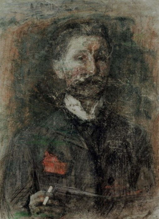 Михаил Врубель. Автопортрет. / Фото: www.wikimedia.org