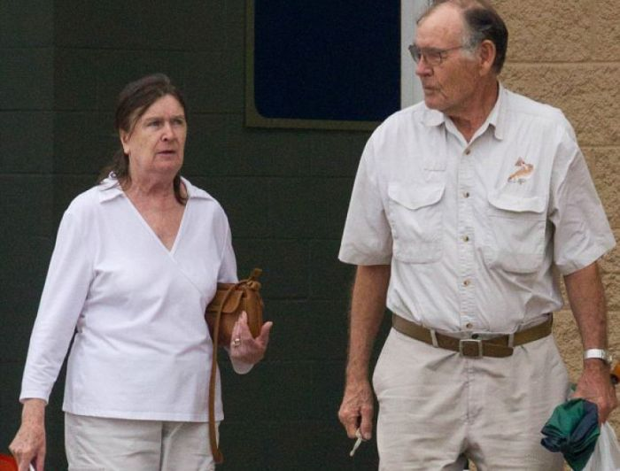 Марина Освальд и её второй муж Кеннет Портер. / Фото: www.odessamerican.livejournal.com