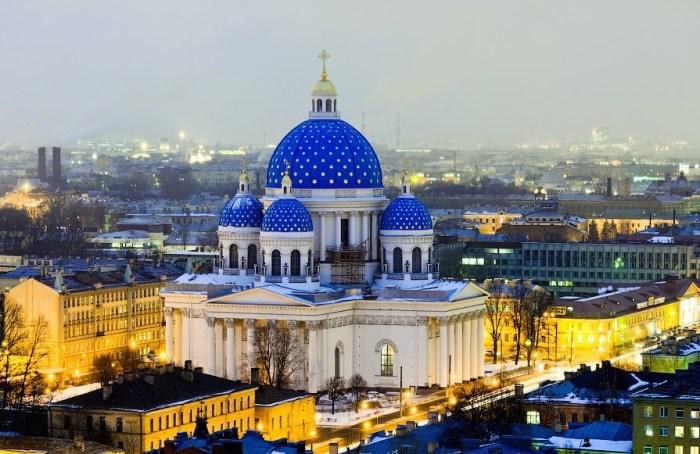 Троице-Измайловский собор. / Фото: www.twitter.com