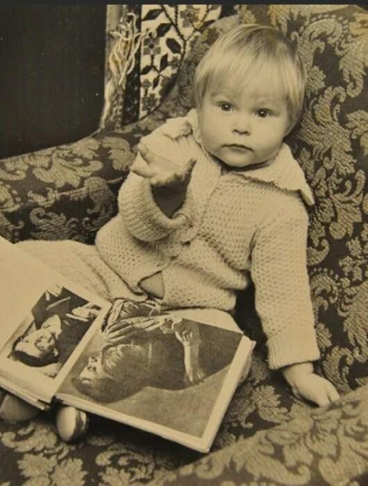 Валерия Листьева в детстве. / Фото: www.yandex.net