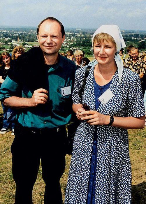Екатерина Шукшина с мужем Йенсом Зигертом. / Фото: www.7days.ru