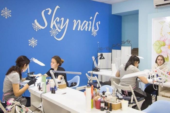 В одной из студий маникюра Skynails. / Фото: www.instagram.com