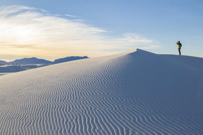 Национальный памятник Белые Пески, Тулароса, штат Нью-Мексико, США. / Фото: www.twimg.com