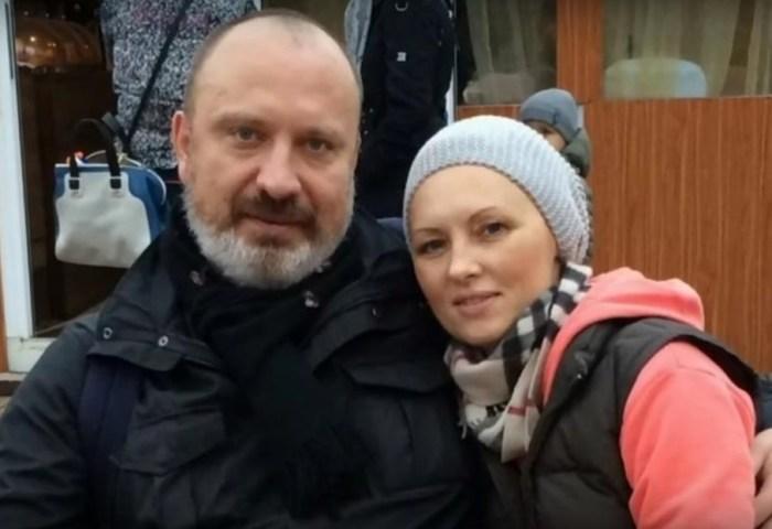 Елена Ксенофонтова и Александр Рыжих. / Фото: www.woman.ru