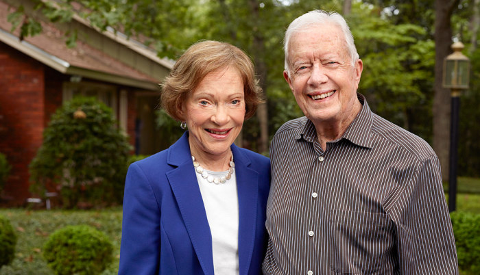 Джимми и Розалин Картер. / Фото: www.aarp.net