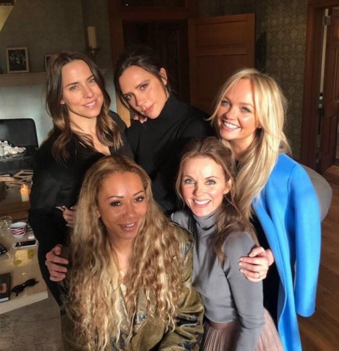 Spice Girls, 2018 год. / Фото: www.instagram.com/victoriabeckham/