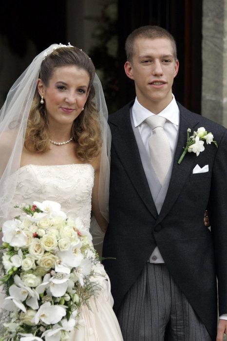 Принц Луи Ксавье Мари Гийом Люксембургский и Тесси Антони. / Фото: www.onedio.com