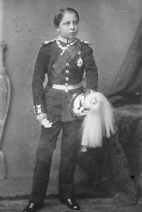 Принцу Вильгельму 10 лет. / Фото: www.wikimedia.org