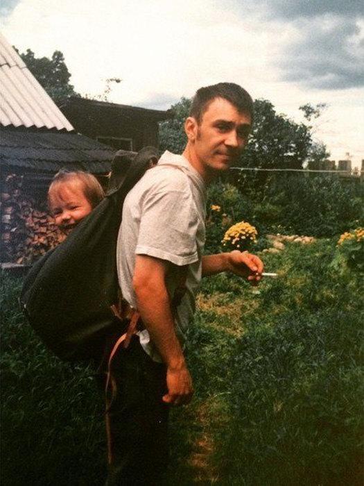 Сергей Шнуров с дочерью Серафимой. / Фото: www.teleprogramma.pro