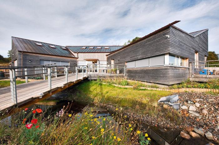 Кампус Acharacle Primary School, Шотландия. / Фото: www.architectsjournal.co.uk