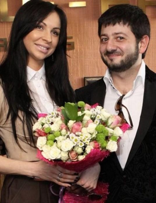 Михаил Галустян и Виктория Штефанец. / Фото: www.paparazzi.ru