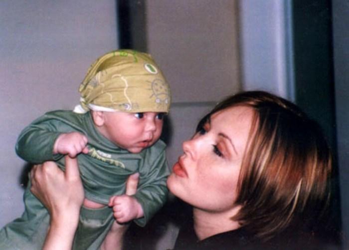 Елена Ксенофонтова с сыном Тимофеем. / Фото: www.ksenofontova.ru