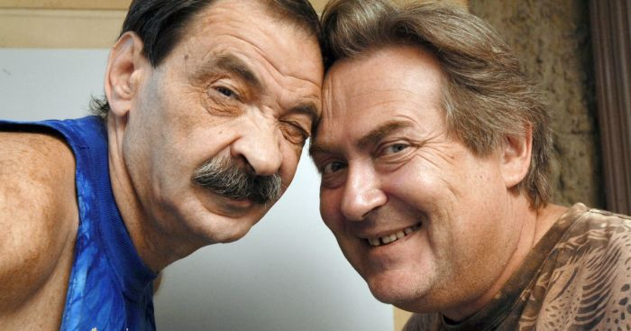 Илья Олейников и Юрий Стоянов. / Фото: www.anews.com