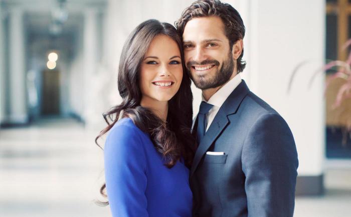 София Хелльквист и принц Карл Филипп. / Фото: www.ecestaticos.com
