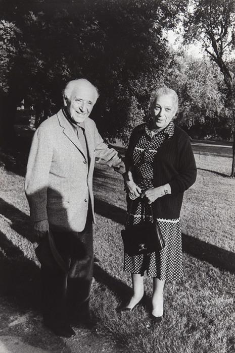 Марк Шагал и Валентина Бродская. / Фото: www.litfund.ru