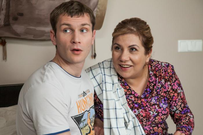 Марина Федункив и Николай Наумов, кадр из сериала «Реальные пацаны». / Фото: www.trkelets.ru