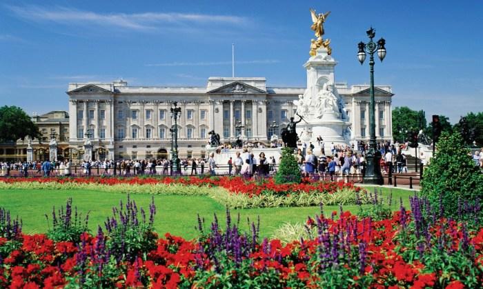 Букингемский дворец. / Фото: www.cookdiary.net