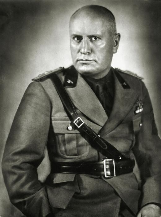 Бенито Муссолини. / Фото: www.interesnyefakty.org
