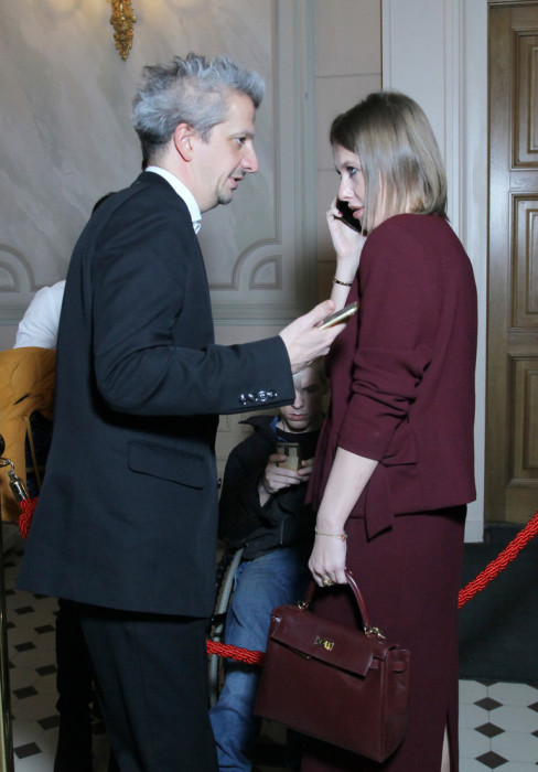 Ксения Собчак и Константин Богомолов. / Фото: www.woman.ru