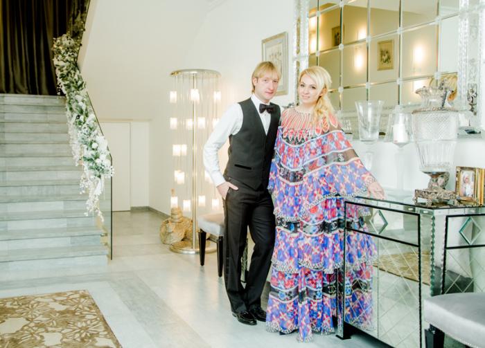 Яна Рудковская и Евгений Плющенко. / Фото: www.livejournal.com