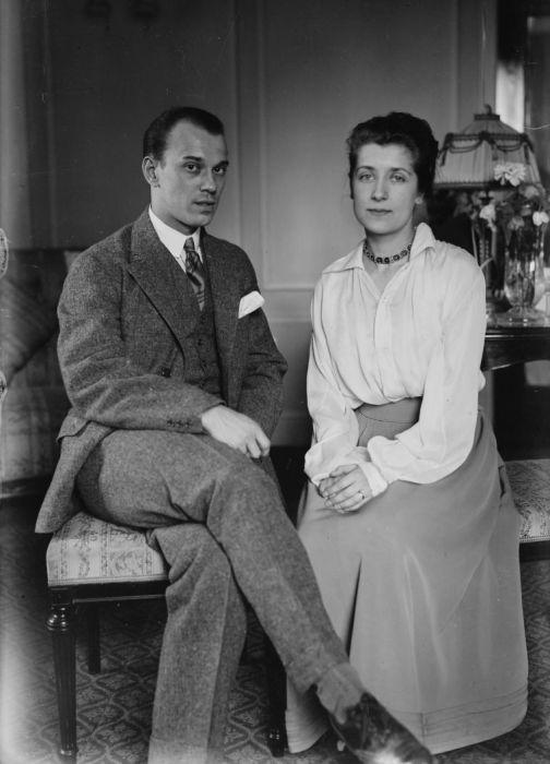 Вацлав Нижинский и Ромола Пульская. / Фото: www.wikipedia.org