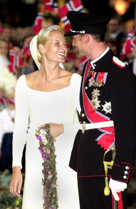 В день бракосочетания. / Фото: www.pinimg.com
