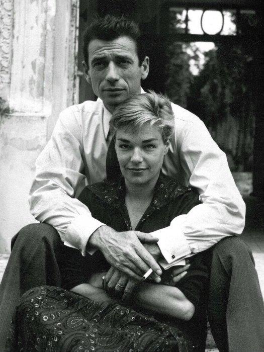 Ив Монтан и Симона Синьоре. / Фото: www.sputnik.fm